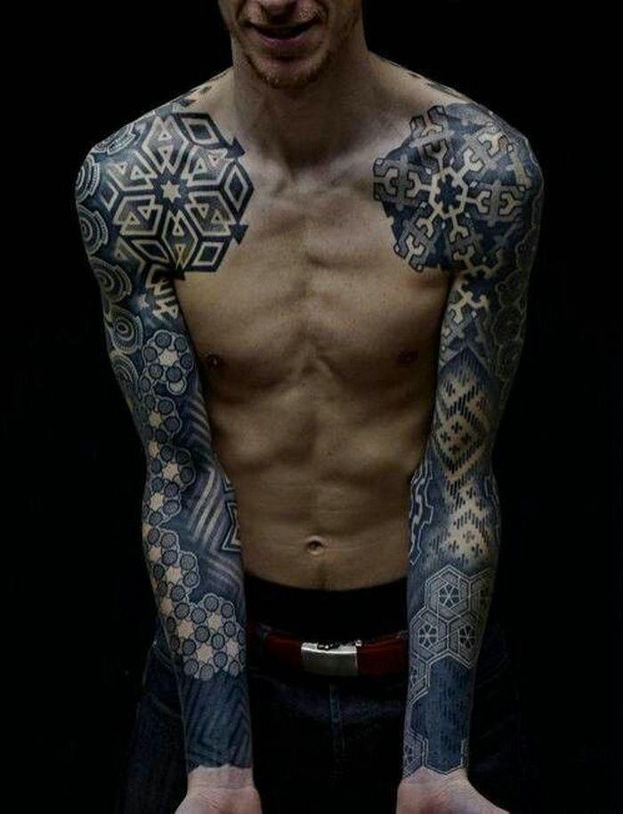 Full-Arm-Celtic-Tattoo-Designs-Men