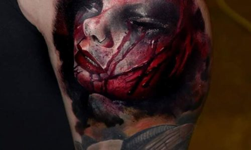 13 RITRATTI HORROR TATTOO