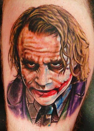 amazing-batman-joker-portrait-tattoo