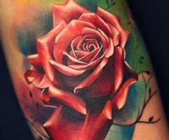 once-again-realistic-rose-tattoo