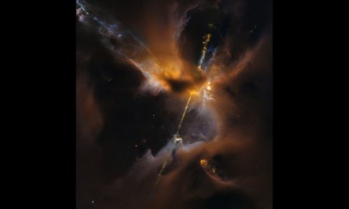Nebulosa Star Wars scoperta nella Via Lattea. Foto NASA