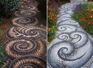 Idee per i vialetti del giardino