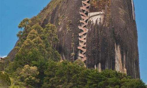 Guadalupe Rock, Colombia