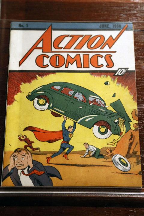 Valore di Vendita di He Man e Action Comics fumetto