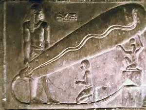 lampadina geroglifici