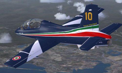 Video – Spettacolo italiano delle Frecce Tricolori