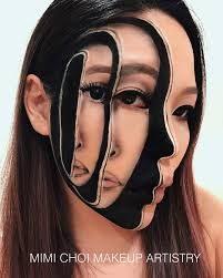 Mimi-Choi Artist Make-Up del trucco artistico con illusioni ottiche
