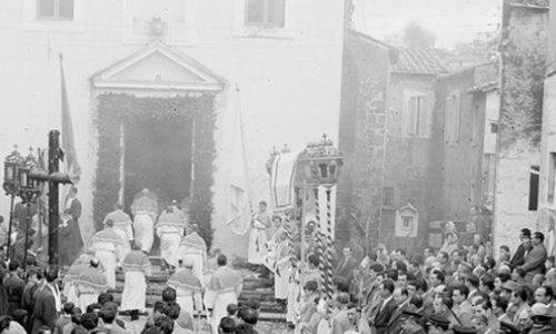 LE ORIGINI DELLA VIA FLAMINIA – LA RELIQUIA CONTENENTE IL PREPUZIO DI N. S. GESU' CRISTO