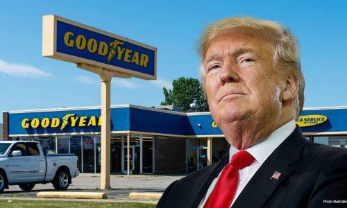 Donald Trump chiede il boicottaggio dei pneumatici Goodyear