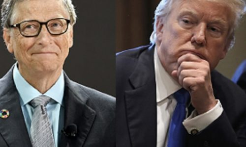"Il presidente Trump dice no alla ""COVAX"" Vaccine Alliance sostenuta da Bill Gates"