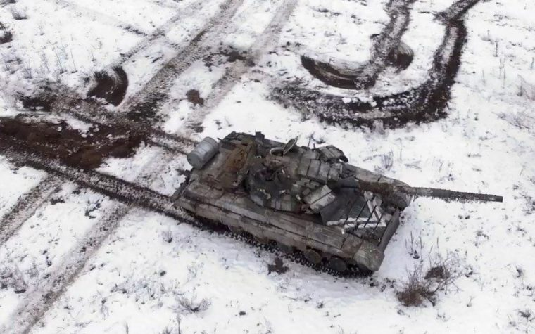 93 carri armati delle forze armate dispersi nel Donbass hanno allarmato l'OSCE