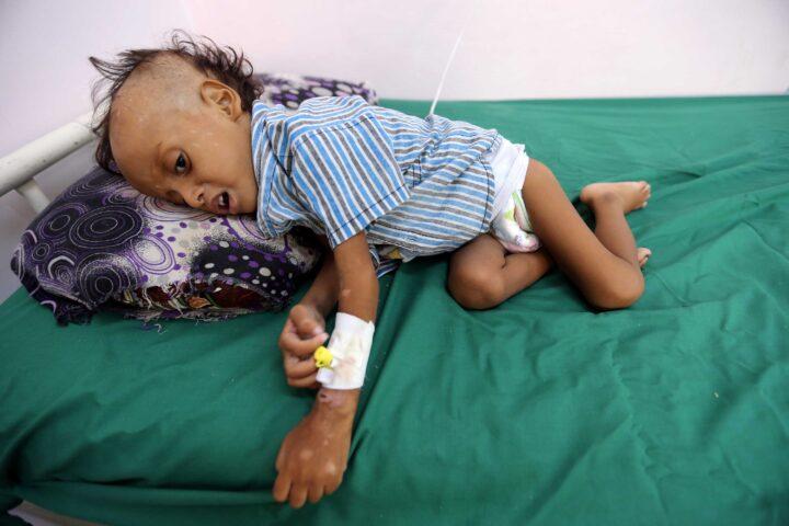 Bambino yemenita